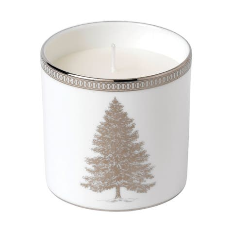 Winter White Filled Candle
