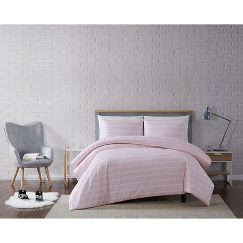 Truly Soft Maddow Stripe 3 Piece Duvet Set