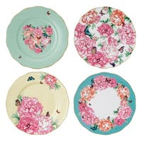 Mixed Patterns 4-piece Accent Plates