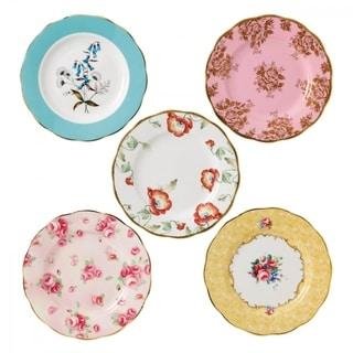100 Years of Royal Albert 1950-1990 5-piece Plates