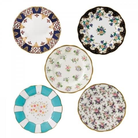 100 Years of Royal Albert 1900-1940 5-piece Plates