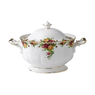 Old Country Roses 146 Oz Soup Tureen