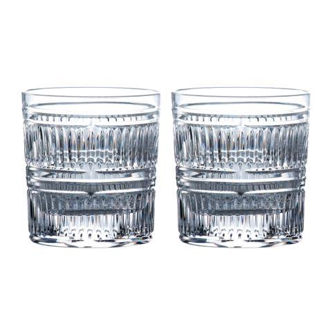 Radial 9.8-ounce Tumbler Glasses, Set of 2