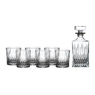 Earlswood 7-piece Tumblers and Whiskey Decanter
