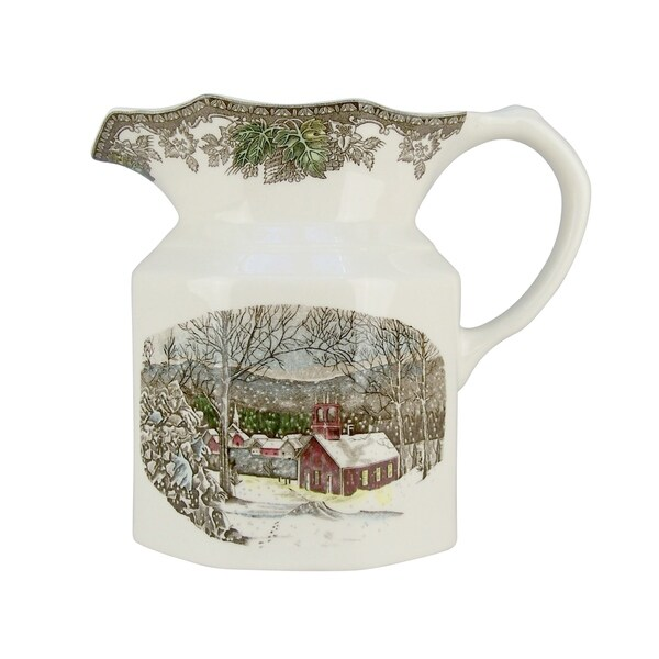 Friendly Village 8-inch Large Pitcher. Opens flyout.