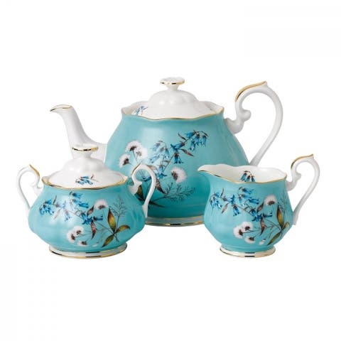 100 Years 1950 Festival 3-piece Tea Set