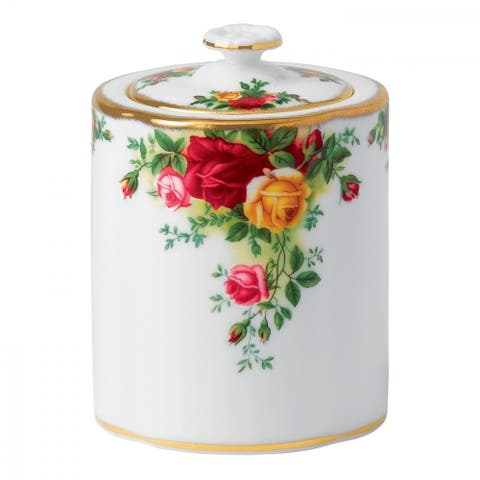 Old Country Roses Tea Caddy
