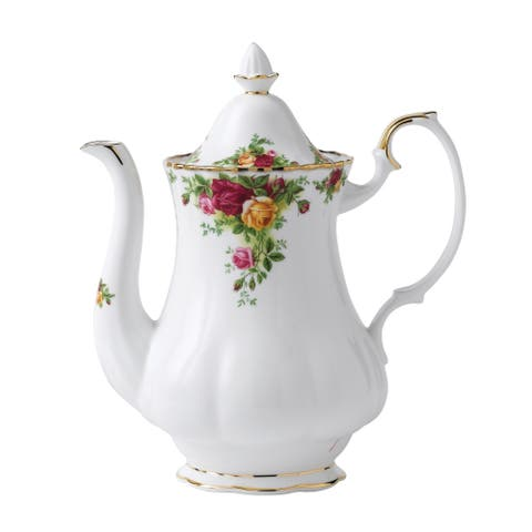 Old Country Roses Large 42-ounce Coffee Pot