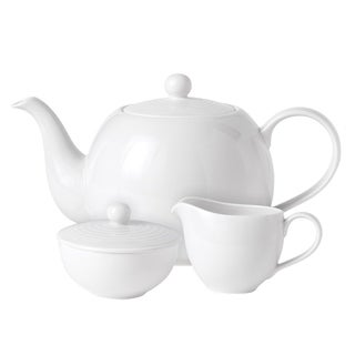 Maze White 3-Piece Beverage Set
