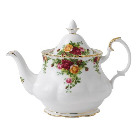 Old Country Roses Large 42-ounce Teapot