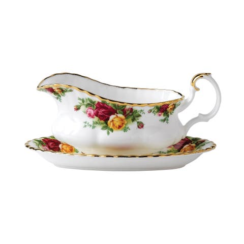Old Country Roses 6-inch Gravy Stand