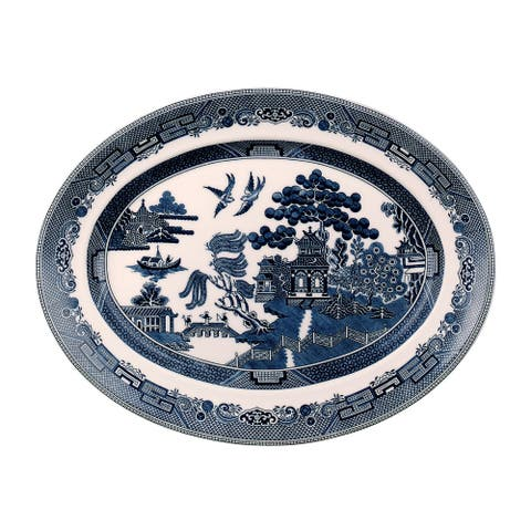 Willow Blue 13.75-inch Platter