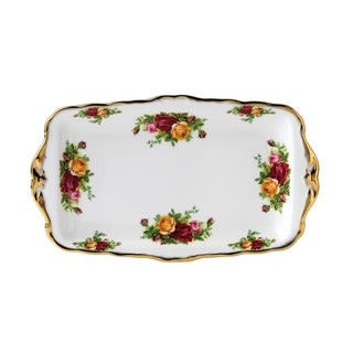 Link to Old Country Roses 11.8-inch Sandwich Tray Similar Items in Serveware