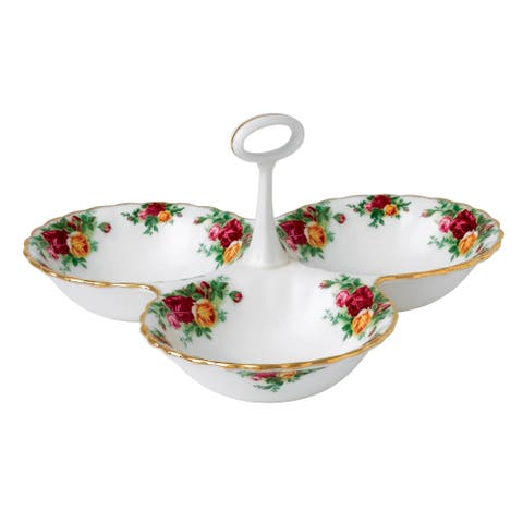 Old Country Roses 5.1-inch Divided Tray