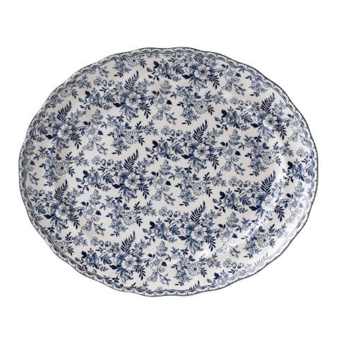 Devon Cottage 13.75-inch Oval Platter