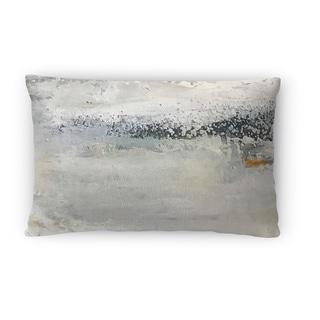 Silver Orchid Sebastian Grey Lumbar Pillow