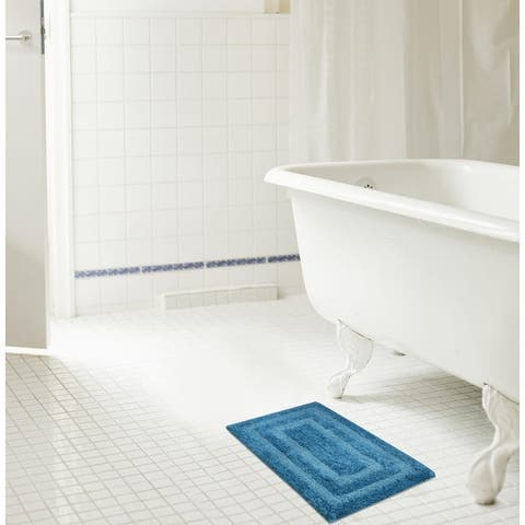 Echo Reversible Cotton Bath Mat
