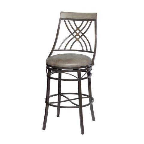 Marcel Swivel Counter Chair by Greyson Living - Counter Height
