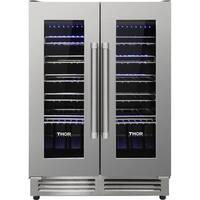 Thor Kitchen - 42 Bottle Dual Zone Built-in Wine Cooler