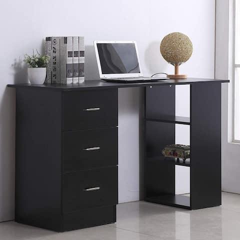 """HomCom 47"""" Modern Home Office Computer Workstation Desk"""