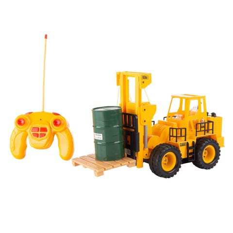 Remote Control Toy Forklift 1:24 Scale Hey! Play!