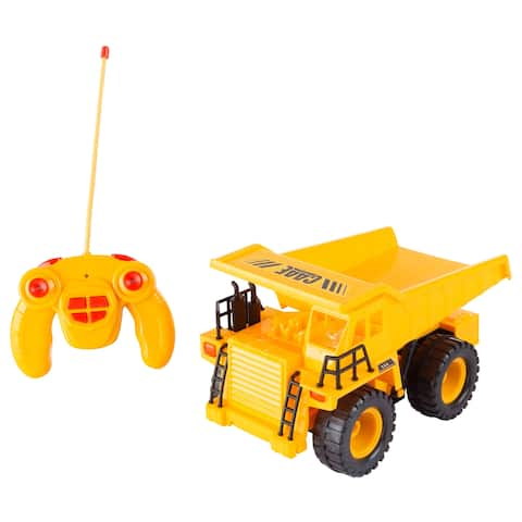 Remote Control Dump Truck 1:22 Scale Hey! Play!