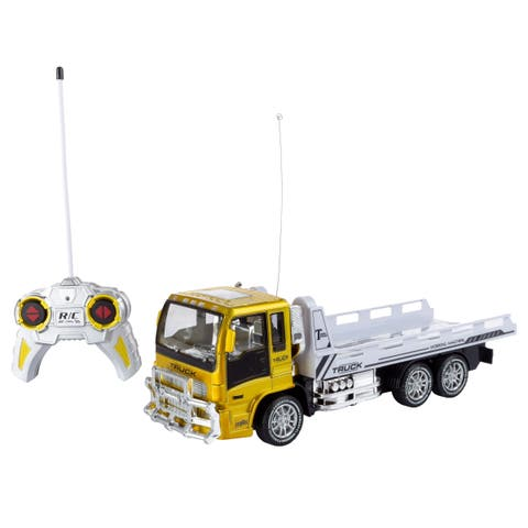 Remote Control Flatbed Truck 4 Channel Hey! Play!