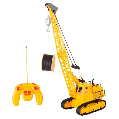 Remote Control Crane Truck- 360 Degree Hey! Play!