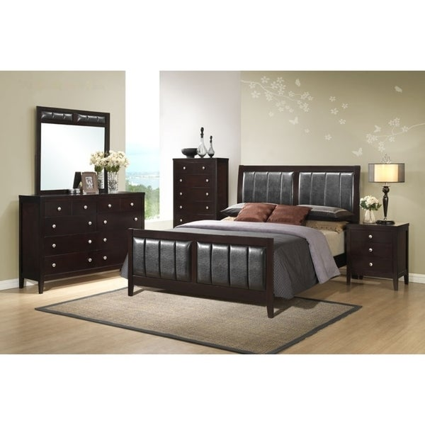 Contemporary Styling Rosa Queen/King Bedroom Set
