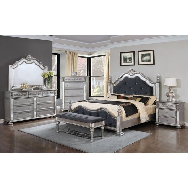 Kenton Panel Wooden Queen/King Bedroom Set