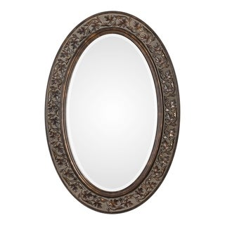 Link to Find Bronze Antique Gold Oval Mirror Similar Items in Mirrors