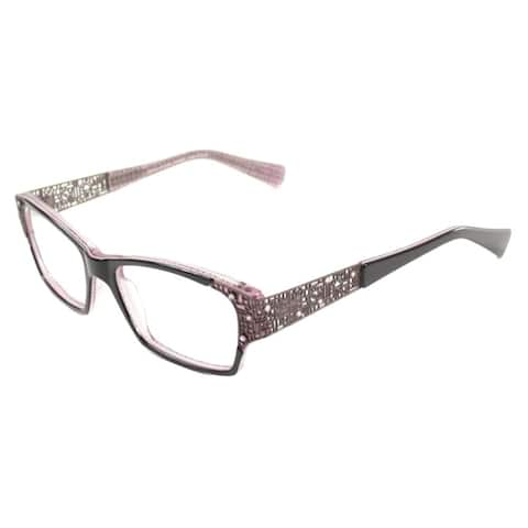 Lafont Women's Black Frame Metal and Plastic 53-millimeter Eyeglasses