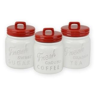 DII Ceramic Jar Canister