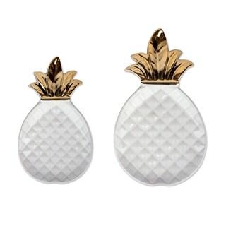 DII Gold Ceramic Pineapple