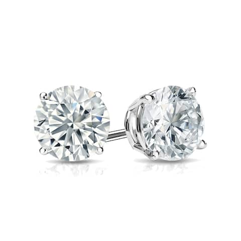 Lab Grown 1ctw Diamond Stud Earrings 14k Gold by Ethical Sparkle