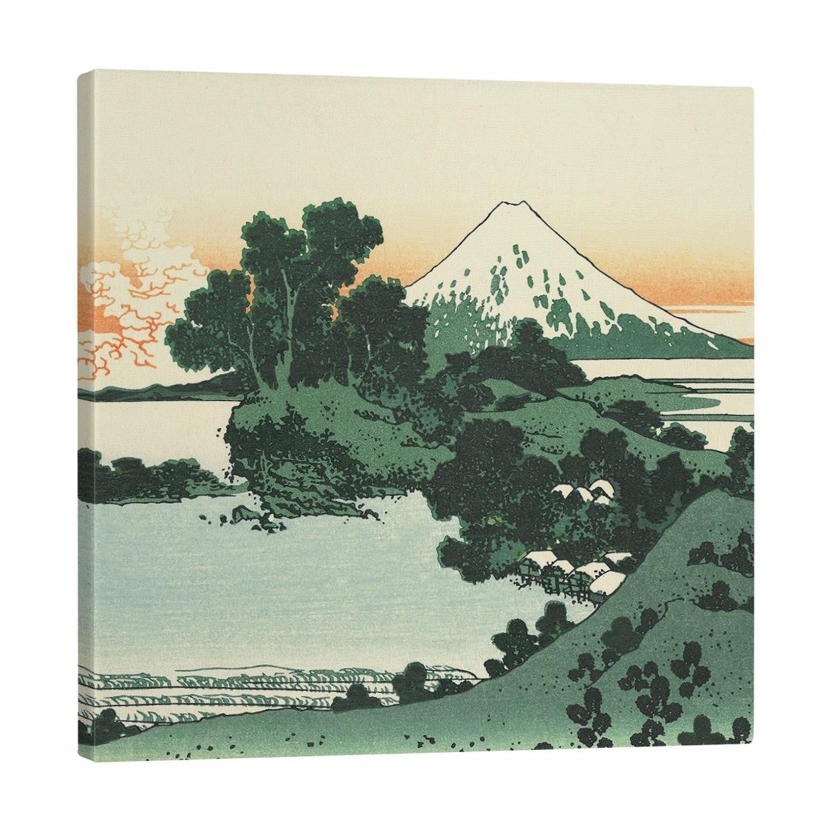 Katsushika Hokusai Shichiri Beach In Sagami Province Gallery Wrapped Canvas Overstock 28266470