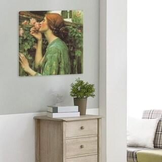 John William Waterhouse My Sweet Rose Gallery-Wrapped Canvas
