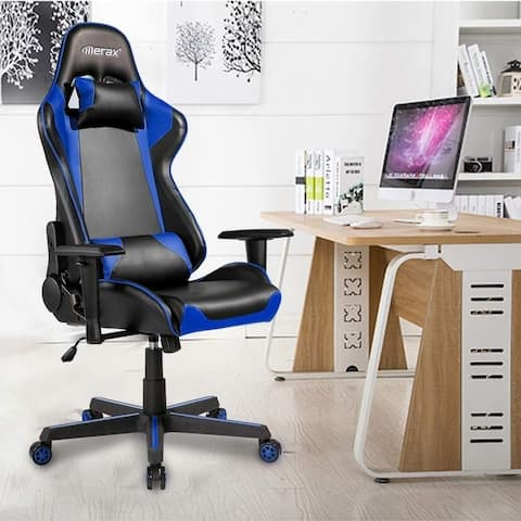Merax Racing Gaming Chair Office Chair Swivel Computer Chair