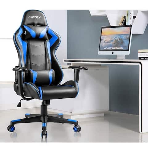 Merax Adjustable High-Back Ergonomic Gaming Chair