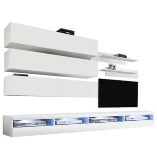 Fly J1 35TV Wall Mounted Floating Modern Entertainment Center
