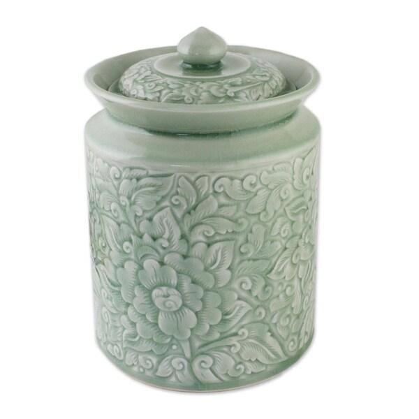 Guarded Romance Celadon ceramic