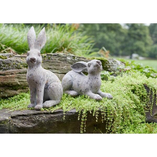 Rabbit (Set of 2) - Standing Rabbit 8.5L x 5W x 14H 1.74lbs