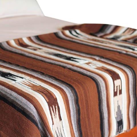 Handmade Inca Graphics 100% alpaca blanket (Peru)