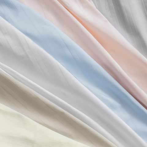Porch & Den Ross Stripe Cotton Sateen Bed Sheet Set