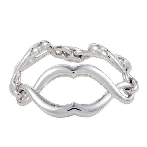Stephen Webster Les Dents De La Mer Jaws Silver Jaw Link Bracelet