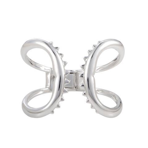 Stephen Webster Jewels Verne Shark Jaw Silver Cuff Bracelet