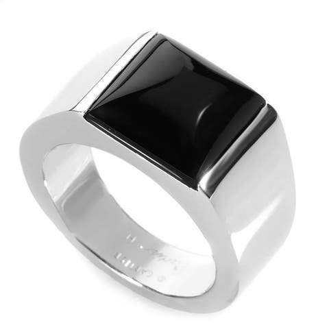 Cartier Tank White Gold Onyx Ring