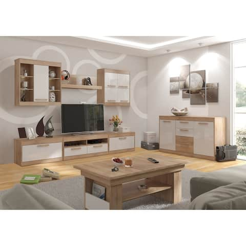 "Maximus 106"" TV Set All 6 Pieces Included with Led Lights"