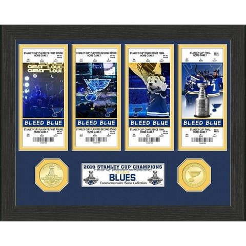 2019 Stanley Cup Champions Ticket Collection