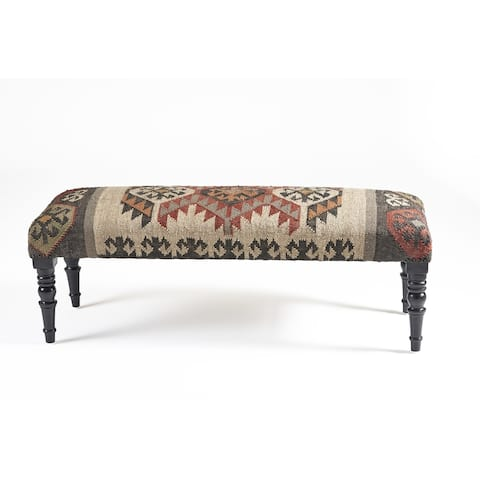 LR Home Bohemian Vanity Indoor Bench
